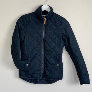 L.O.G.G. by H&M Navy Puffy Coat Size 2